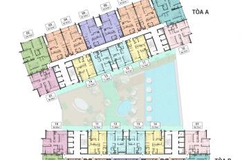 Chuyển nhượng 2PN tòa A ban công Đông Nam giá hấp dẫn tại Green Pearl - 378 Minh Khai 0911056336