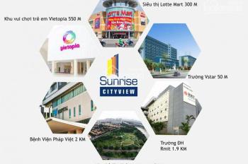 Bán căn hộ Sunrise City View 1 phòng ngủ, nhà hoàn thiện có giá tốt cho đầu tư