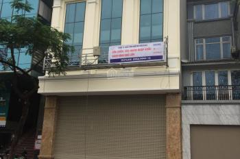 Cho thuê tầng 1+2+3+4 nhà mặt phố Nguyễn Ngọc Vũ ngay ngã tư Lê Văn Lương, liên hệ 0965836488