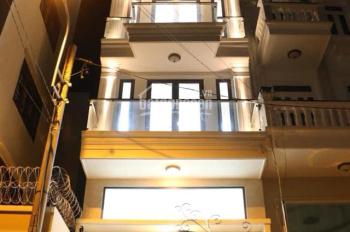 Bán nhà mặt tiền nội bộ 4.5x20m 4 lầu thang máy giá 11 tỷ đường Nguyễn Trung Trực, P5, Bình Thạnh