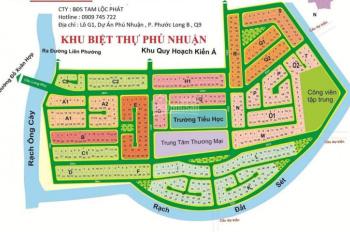Bán lô đất Khu Dân Cư Phú Nhuận, Q9, DT: 280m2, đường Liên Phường - Đỗ Xuân Hợp
