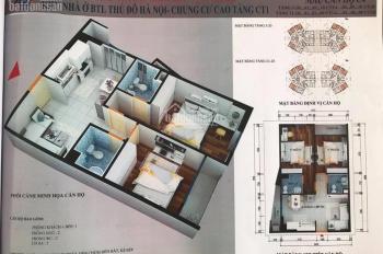 Chính chủ bán căn góc 61.94m2, chung cư CT1 Yên Nghĩa, giá: 12,5 triệu/m2. LH: 0962251630 (MTG)