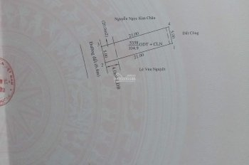 Bán đất phường Tương Bình Hiệp, gần ngã 3 Sở Gà, 5x21m, giá 1 tỷ 250 tr, đường 7m