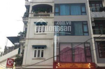 Cho thuê nhà phố Trần Đăng Ninh. Diện tích xây dựng 60m2 x 6 tầng, MT 5m, thang máy, sàn thông