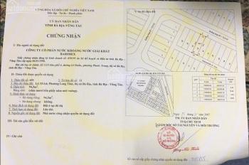 Bán đất Barimex đường Võ Văn Kiệt, phường Long Tâm, thành phố Bà Rịa