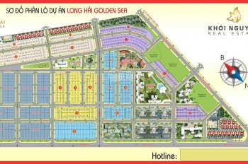 Đất khu dân cư số 1 tây nam, KDC Ô Cấp, Long Điền, BRVT, đã có sổ riêng. Liên hệ: 0907350678