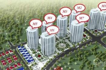 Suất ngoại giao tòa M7 Mipec City View các loại diện tích, LH: 0934444192