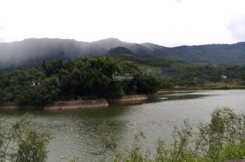 Bán 5800m2 thổ cư bám mặt hồ Quốc Oai, giá rẻ