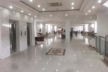 Cho thuê tòa nhà 6 tầng, 3 thang máy, mặt tiền QL13, nội thất hoàn thiện cơ bản cao cấp