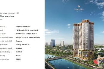 Chủ đầu tư xây dựng mở bán 96 căn hộ chung cư Samsora Premier giá từ 1,64 đến 2,35 tỷ