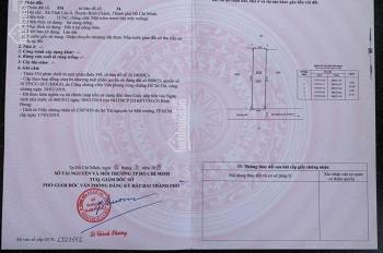 Đất nền sổ đỏ Bình Chánh 100m, công chứng sang tên, 24tr/m2, hỗ trợ NH 70%. LH 0941876878