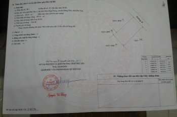 Tôi cần tiền bán 1 lô đất hướng Đông, ở KP Phú Thọ 1, TT Hòa Hiệp Trung, Huyện Đông Hòa, Phú Yên