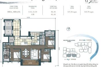 Cần sang nhượng lại căn D'Edge Thảo Điền, 3PN 142m2 giá 10,65 tỷ-Tin thật không ảo-LH: 0974338759