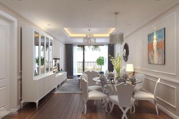 Cho thuê căn hộ cao cấp tại D'. Le Pont D'or, Tân Hoàng Minh, 36 Hoàng Cầu 130m2, 3PN, giá 18tr/th