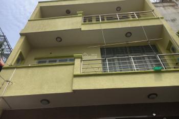 Cho thuê nhà Hậu Giang 7x7m, 2 lầu, 3 phòng ngủ, hẻm 4m