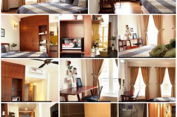 Cho thuê tòa nhà căn hộ đường hẻm số 6 CMT8 Q1 ngay ngã sáu Phù Đổng