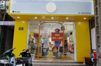 Cho thuê nhà mặt phố Đinh Tiên Hoàng: 55m2, lửng 20m2, mặt tiền 5m, nhà thông, RB. LH: 0974557067