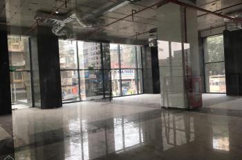 Cho thuê mặt sàn TM tầng 1 chung cư 97 Láng Hạ, mặt Thái Thịnh, DT: 188m2 giá TL, LH 0968723662