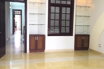 Cho thuê nhà 4 tầng đường Nguyễn Văn Linh, DT: 436m2, giá: 43tr/tháng (gần sân bay)