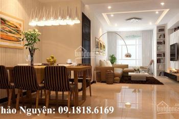 Bán căn hộ chung cư 34T, DT 143m2 thiết kế 3 ngủ, 2WC tầng cao, sửa đẹp BC Đông Nam, có suất đỗ xe