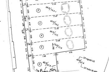 Bán gấp 5 lô đất hẻm xe hơi 12 Hoàng Hoa Thám, P. 7, Bình Thạnh. DT 4x18m, khu vip giá tốt
