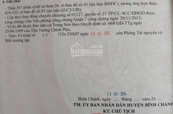 Bán đất khu Trung Sơn, DT 5x20m, giá rẻ nhất 10.7 tỷ. LH Vinh 0909491373