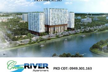 Cần tiền sang gấp căn hộ Green River mặt tiền đường Phạm Thế Hiển, quận 8. 0949301163