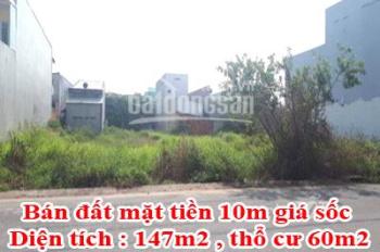 Bán đất mặt tiền 10m giá sốc - Liên hệ: 0941910077