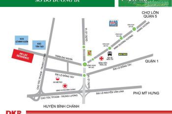 Chính chủ cần bán đất nền nhà phố đường Trần Đại Nghĩa Bình Chánh, giá 2.5 tỷ, LH: 093.179.8492