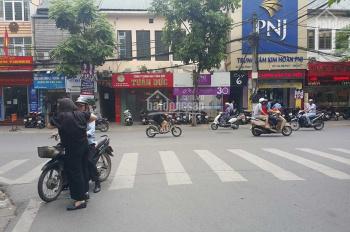 Bán nhà mặt phố Trần Đại Nghĩa, Hai Bà Trưng, 90m2 x 4T, giá 29 tỷ, 3 mặt tiền, vị trí đẹp nhất phố