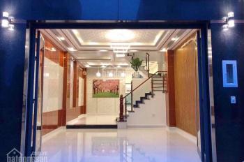 Bán nhà mới 3 tầng hẻm xe hơi 48 đường Gò Ô Môi, P. Phú Thuận, Quận 7. Giá 6.3 tỷ