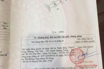 Bán mặt bằng kinh doanh phố Nhuệ Giang (60m2-mt 4m), 6,3tỷ đường 10m. LH: 0349344555
