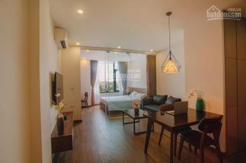 Cho thuê nhà làm căn hộ dịch vụ Cầu Giấy, 14P, 1 ki ốt. Giá 33tr/tháng