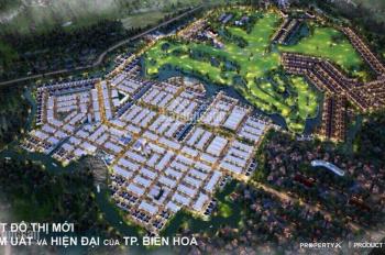 Đất nền Đồng Nai, Biên Hoà New City đất nền sân golf, 0966382595 chính chủ bán căn view sông