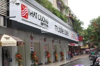 Cho thuê nhà lô góc mặt phố Trần Phú, Hà Đông, phù hợp thời trang, nhà hàng, cafe. LH 0986510510