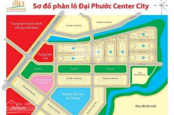 Chủ gửi bán gấp lô đất dự án Đại Phước 1, DT: 97.5m2, giá rẻ nhất dự án chỉ 1.2 tỷ, LH: 0988752477