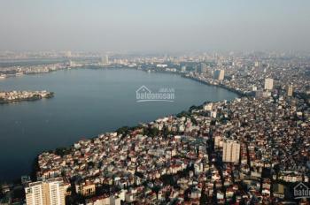 View trực diện Hồ Tây, căn góc 3PN ban công Đông, tầng 17, giá 4,9 tỷ, full đồ. TT 95% CK 8%
