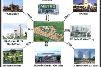 Chính chủ bán đất KDC Vĩnh Phú 2, cách BV quốc tế Hạnh Phúc 600m, giá 1.25 tỷ, DT 80m2, 0767196279