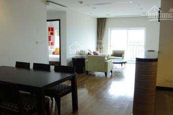 Cho thuê căn hộ 3 phòng ngủ, giá 18tr/th, tòa nhà Hòa Bình Green, 376 đường Bưởi