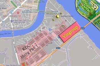 Bán nền KDC Hưng Phú 1, Cái Răng, TP Cần Thơ