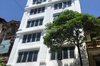 Cho thuê nhà mặt phố Nguyễn Khánh Toàn mới xây đẹp - vị trí đắc địa