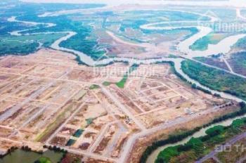 Siêu phẩm đất nền 3 mặt giáp sông, gần Vincity Quận 9, 850 triệu/nền