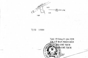 Bán đất có 2 nhà 30m mặt tiền đường Hùng Vương, Trà Vinh. LH: 0936972905