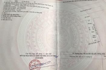 Kẹt tiền bán lại nền giá 584tr gần công viên TT hành chính Vĩnh Thạnh, sổ hồng nhận ngay 0933443900