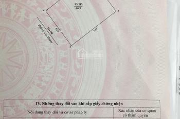 Bán đất MP Lê Văn Thiêm DT: 47m2, MT 6,3m đường hai chiều vỉa hè KD sầm uất