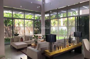 Cho thuê biệt thự song lập khu Hoa Sữa Vinhomes Riverside đầy đủ nội thất, 52tr/tháng. 0974002996