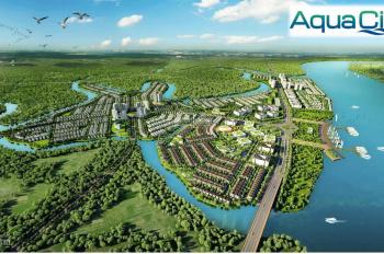 Bán nhà phố khu đô thị Aqua City, TP. Biên Hòa, giá 5.8 tỷ, 1 trệt 2 lầu, liên hệ: 0902977207