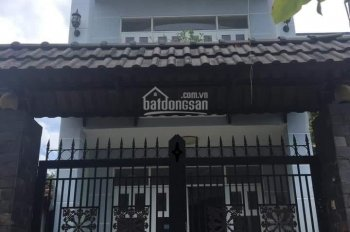 Nhà 1 trệt, 1 lầu, 4x16m hẻm Bà Triệu, gần bệnh viện Hóc Môn