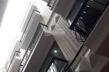 Bán nhà ngõ 118 phố Đào Tấn, Cống Vị, Ba Đình 35m2 x 6 tầng xây mới, MT 3,6m, căn góc, giá 3,95 tỷ