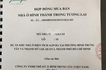 Chính chủ gửi bán lô đất dự án Saigon Mystery Villas mã lô LK2 - 14, 9x20m, 20 tỷ, LH 0938545808